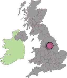 UK Map showing Aerialwork coverage